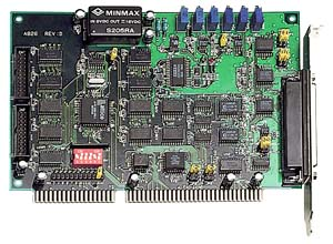 A-826PG - Multifunction Adapter ISA, 16SE/8D Analog Inputs