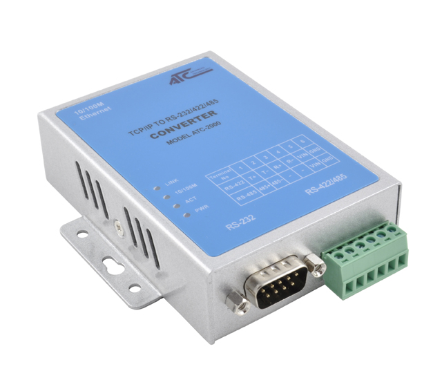 ATC-2000 - 1- Serial Port RS232/422/485 to Ethernet