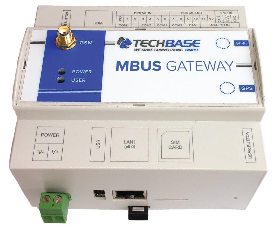 MBUS GATEWAY - Programmable industrial converter M-BUS protocol