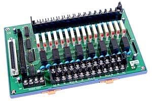 DB-24PRD/24/DIN - 24-channel relay Output Board (24V), DB37