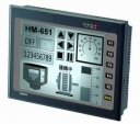 "5.7"" 16-Grayscale STN Display, HMI, 200MHz RISC CPU, embedded, Flash, SD Card, 320x240px, 1x RS-232/485, 2x RS-232/422/485, 2x USB, IP 65, Natural Cooling"