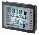 "HMI with 65, 536 color 10.4 "" TFT Display, embedded, 640x480px, 1x RS-232/485, 2x RS232/422/485, USB, SD Card, IP65, Flash, Touch-Screen,"