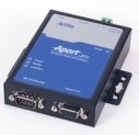 Single-port Serial-to-Ethernet Gateway with 64KB user web space, RS232/422/485