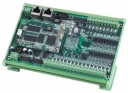 Industrial Programmable Automation Controller with 16x isolated DI and 8x Darlington-pair DO, 64MB SDRAM