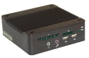 "Mini komputer typu BOX, Intel Atom Z5xx, VGA, SSD, CF, SD, 1.8"" HDD, PS/2, 4x COM, 4x USB, WiFi, Windows, Linux, bezwentylatorowy, 1000base-TX"
