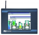 "Dotykowy panel PC, 8.4"" SVGA TFT LCD, CPU AMD 500MHz, 1x CF, 1x 2.5"" IDE HDD, 2x RS-232, 1x RS-232/422/485, 1x VGA, 1x PS/2, 2x USB, 2x 100base-TX, audio, bezwentylatorowy"