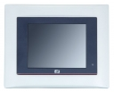 "Dotykowy panel PC, 5.7"" VGA TFT, CPU AMD 500MHz, 1x CF, 1x RS-232, 1x RS-232/422/485, 2x USB, 1x 100base-TX, audio, 1x MiniPCI, 1x PC-104, bezwentylatorowy"