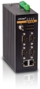 6 Port Programmable Serial Server, 2x 2 10/100Base-T(X) RJ45, 4x RS232/RS422/RS485, dual redundant power inputs