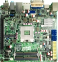 Mini-ITX Motherboard, Intel Core i3, i5, i7, Socket G, intel HD Graphics, 2x SODIMM, DDR3, 1x PCI-E, 1 x PCI Express Mini, 5x SATA2, HD Audio, 10x USB, 1x PS/2, 1x RJ-45, 1x HDMI, 1x VGA, 1x DVI-D, 1x eSATA, 1x Coaxial, 1x Optical, 1x RS-232, 1x GPIO, 1x gigabit ethernet, sbc