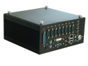 "Embedded computer with CPU Intel Atom  N270 1.6GHz, 2 GB RAM, VGA, DVI, 1x CF, 1x 2.5"" SATA HDD, 6x COM, 6x USB, audio, GPIO, Gigabit Ethernet, 1x Mini-PCIe, fanless, size 210x205x96.5mm, Windows"