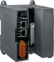 Programmable device server, CPU 80186 80 MHz, 1x RS-232, 2-port 10/100 Base-TX Ethernet Switch, WT-25+75