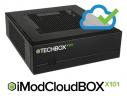 iModCloud Software on Mini-PC BOX with Intel Atom D2550 1.86 GHz processor, 4GB RAM, 120GB SSD, 2 x SATA II, 1 x VGA,  2 / 6 x COM, 2 x RJ45, 4 x USB, Audio