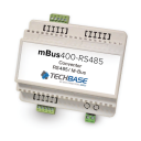mBus 400 - RS485 TO M-BUS CONVERTER