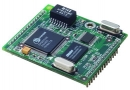Embedded Converter Module with User Web Space, 40x45x13mm, Ethernet, TTL, Programmable Digital I/O