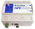 NPE X500 - Komputer przemysłowy, IoT Gateway, Quad-core Cortex A53 1.2 GHz or ARM11 700MHz, 512/1024 MB Ram, 4 GB Flash, Linux 4.4+, RTC, WatchDog, Ethernet, 2 x RS-232 / 2 x RS-485, 4 x DI, 4 x DO, 4 x DIO/GPIO, 4 x AI, OneWire, CAN, HDMI, USB 2.0, SIM CARD slot, GPRS/3G/LTE modem options, Wi-Fi, Bluetooth, GPS, Zigbee, IoT Gateway