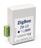 ZigBee Relay I/O Module: 2 relay outputs, 1 digital input, 1 digital output, 3 analog inputs, 2 digital inputs, 1 meter input, built-in temperature sensor, DC power supply